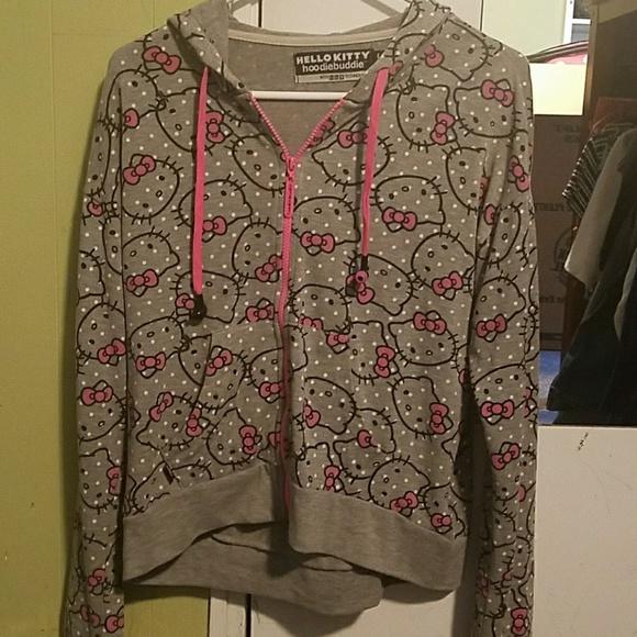 62e40e862 Hello Kitty Jackets & Coats | Hoodie Buddie With Headphones | Poshmark